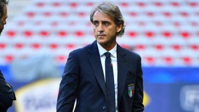 Foot - L. nations - ITA - Roberto Mancini (sélectionneur de l'Italie): «Un beau défi contre l'Espagne» en Ligue des nations