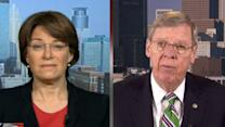 Sens. Johnny Isakson and Amy Klobuchar