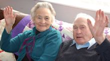 Elderly couple married for 70 years die just four minutes apart