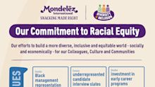 Mondelēz International Announces Multi-Year Commitment to Advance Racial Equity through U.S. and Global Diversity & Inclusion Initiatives