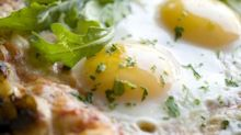 Start your morning sunny side up with this delicious breakfast pizza