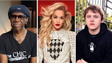Music stars including Lewis Capaldi and Rita Ora call for end to racism