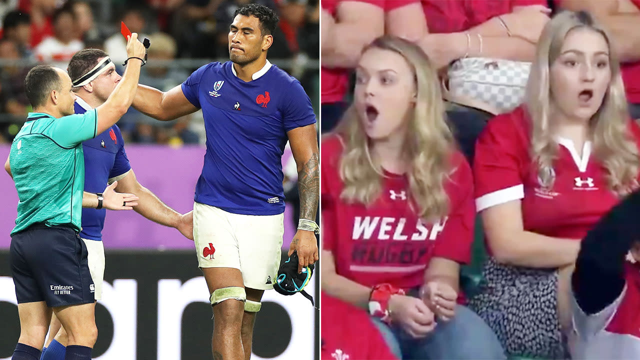 'Absolute disgrace': Rugby World Cup rocked by 'disgusting' act of violence