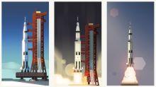 Google 以影片 Doodle 來紀念阿波羅 11 號登月 50 週年