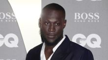 Stormzy wears slippers for TV interview after forgetting his shoes