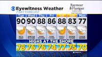 Kate's Monday Evening Forecast At 11 PM: May 25, 2015
