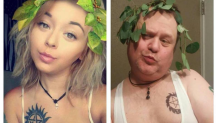 Hilarious dad who recreates daughter's selfies now has double her followers