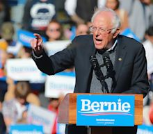 PHOTOS: 'I am back,' Bernie Sanders tells supporters at NYC rally