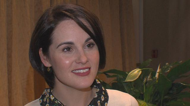 Michelle Dockery Reacts To Her 2013 Emmy Nomination For 'Downton Abbey'