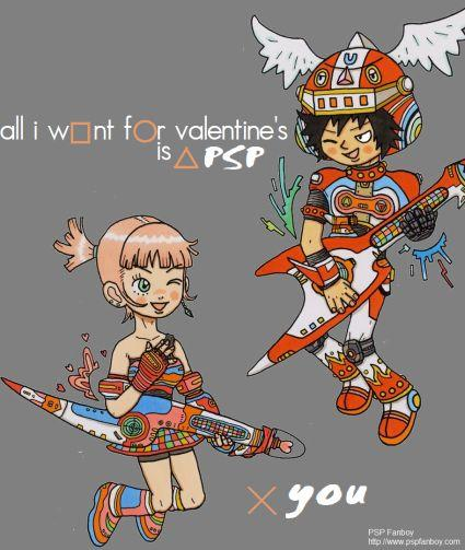 Happy Valentine's Day from PSP Fanboy