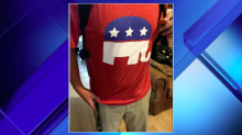 Middle school reprimands student for dressing as a 'Republican nerd' in a GOP logo T-shirt