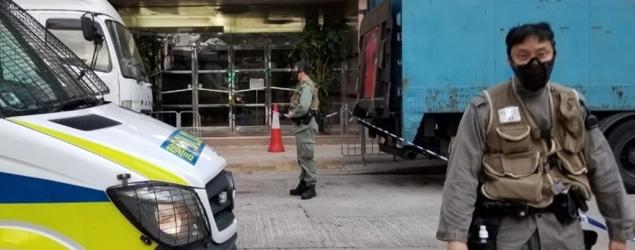 葵涌警員拘2偷車賊 遇反抗開2槍1人傷