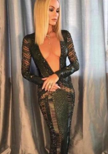 Amanda Holden Britain's Got Talent stripper dress