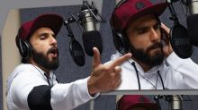 Has Ranveer Singh started rapping and recording for Gully Boy?