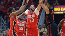 Anthony Davis leads Pelicans to impressive sweep of Blazers in chippy Game 4
