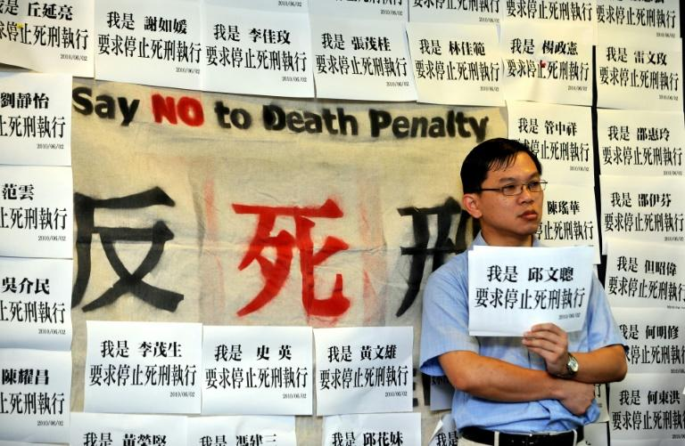 Public opinion was divided when Taiwain ended a moritorium on the death penalty in 2010