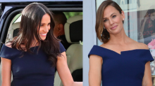 Jennifer Garner just stepped out in one of Meghan Markle's royal wedding looks