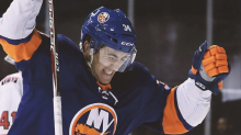 Islanders' Bardreau caps off incredible NHL journey with historic first goal