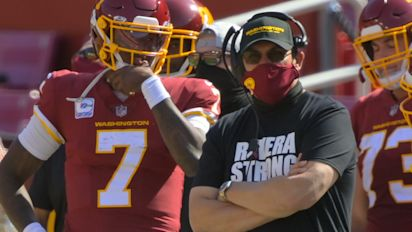 Rivera admits he made mistake with Haskins