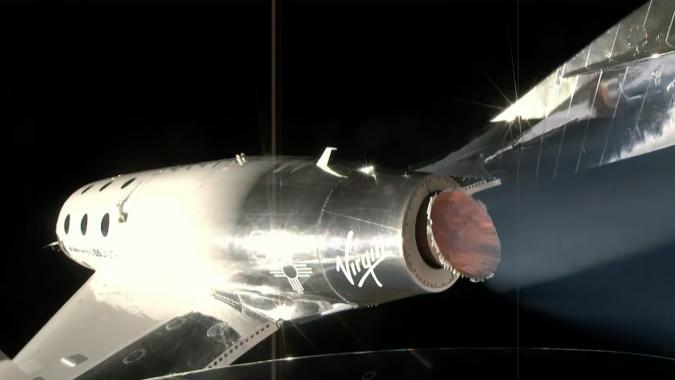 Virgin Galactic SpaceShipTwo completes Unity 22 spaceflight