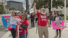 'This is about survival': California tenants plan rent strikes as Covid-19 relief falls short