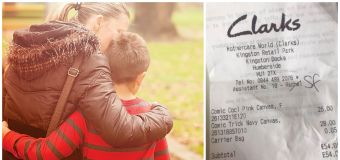 Mum's scathing note to 'rubbish father' goes viral