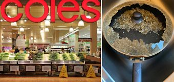 Coles shopper's shock over 'huge bang' while cooking