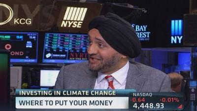 Investing in climate change