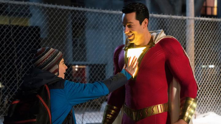 'Shazam!' star takes on 'Captain Marvel' trolls