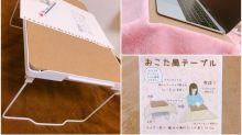 日本網民自創冬天「暖桌」 500円搞掂超實用