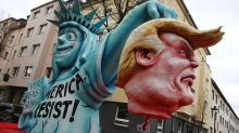 Political satire dominates Rose Monday Carnival parades in Germany