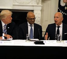 Donald Trump thinks Jeff Bezos is his biggest threat