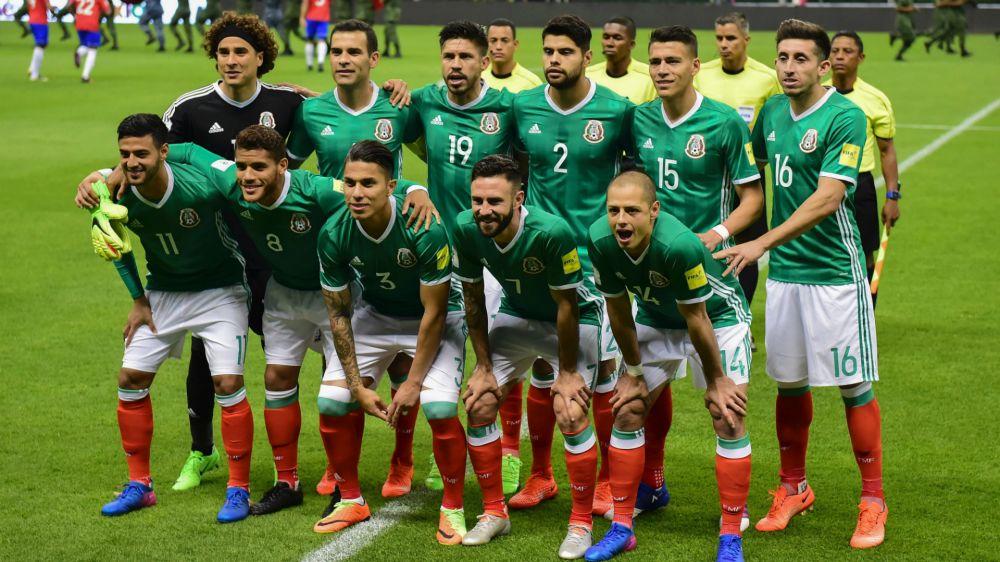 ¿Cómo formaría México en la Copa Confederaciones 2017?