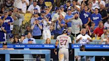 Opinion: Taunted and booed relentlessly, Houston Astros get last laugh at Dodger Stadium