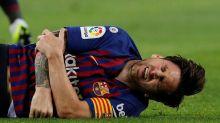 Lionel Messi blessé à un bras à une semaine du Clasico