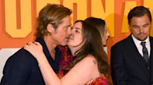 Lena Dunham accused of being 'inappropriate' after Brad Pitt kiss