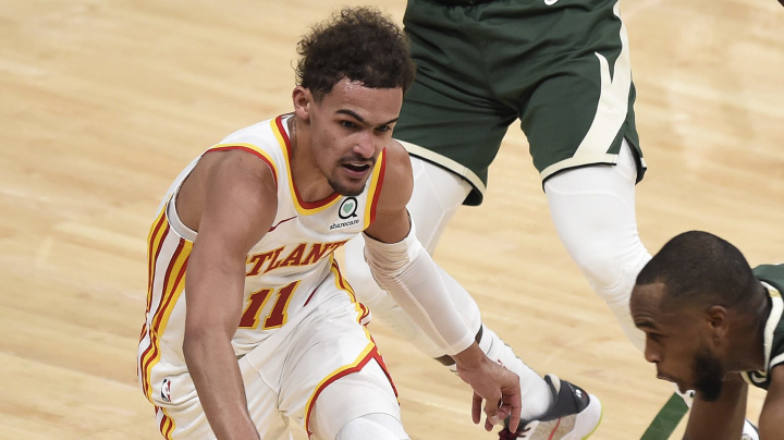 Trae Young's shimmy didn't sit well with Bucks