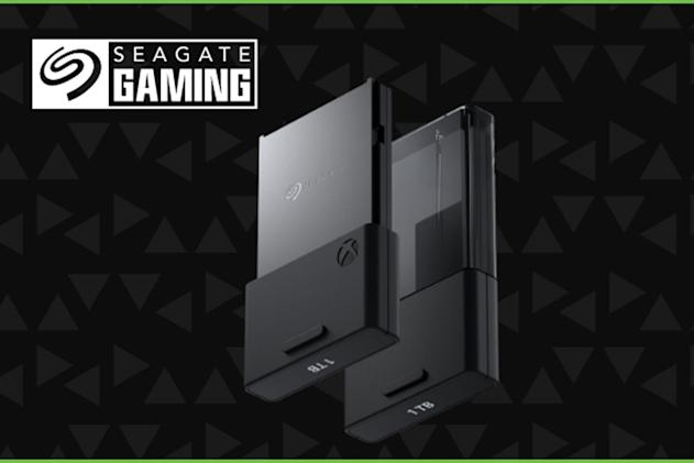 Seagate's Xbox Series X storage card has 1TB of space, but no price