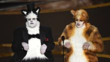 Oscars 2020: James Corden and Rebel Wilson wear 'Cats' outfits to present Visual Effects award