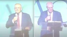 Scott Morrison calls social media 'evil' in church speech