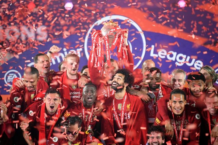 Liverpool are the reigning Premier League champions