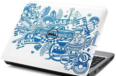 Dell's Inspiron Mini 9 and 12 get artist makeovers