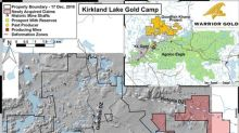 Warrior Gold Increases Land Position Strategic to the Goodfish-Kirana Property, Kirkland Lake, ON