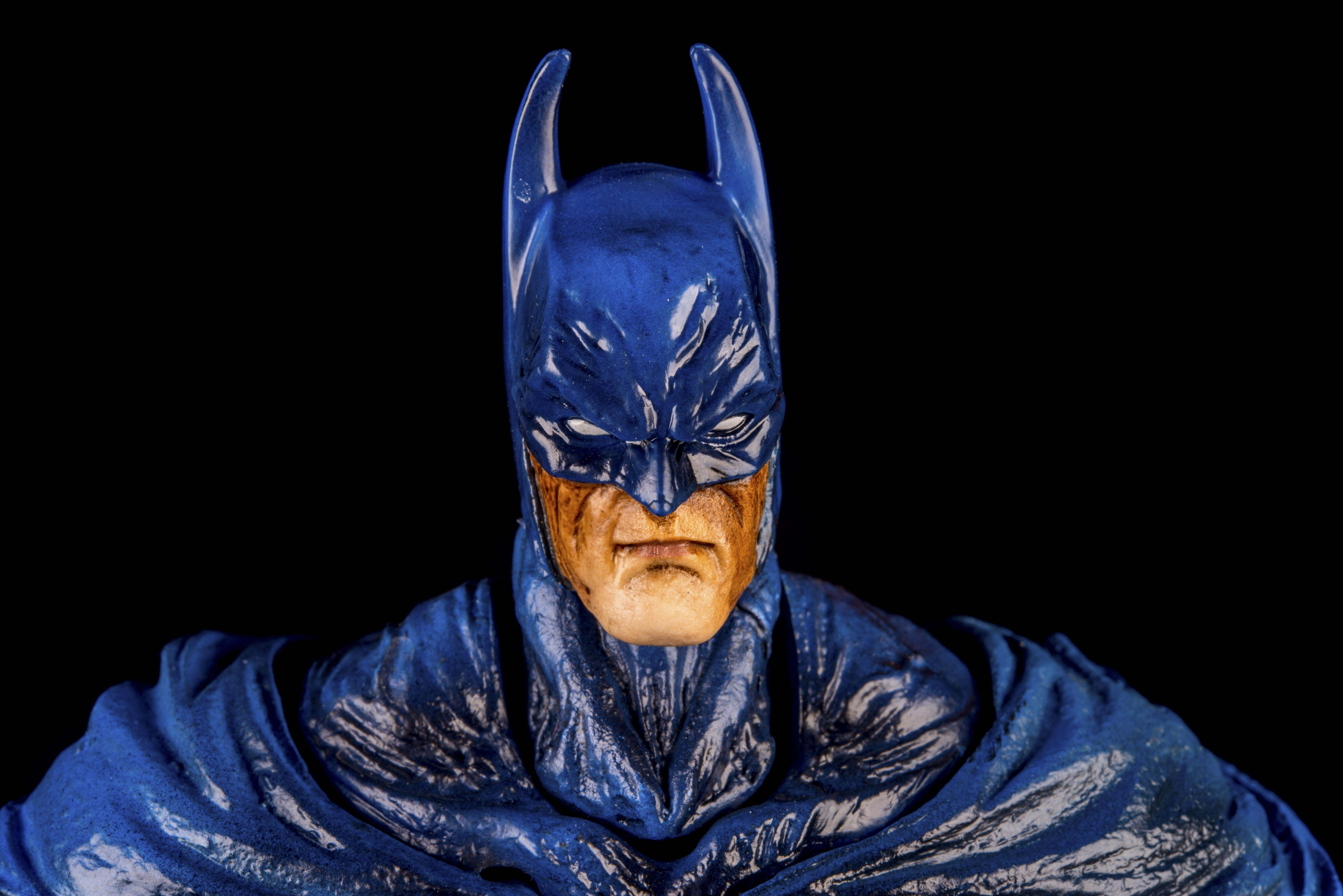 Notre Dame De Lile Perrot, Canada - October15, 2015 - Horizontal studio shot of Batman from DC Comics.