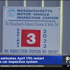 RMV Estimates April 17 Restart Of Car Inspection System