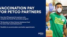 Petco Health and Wellness Company Inc. to Provide Covid-19 Vaccination Payment for Partners