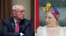 Bette Midler shames Donald Trump for criticising how women look