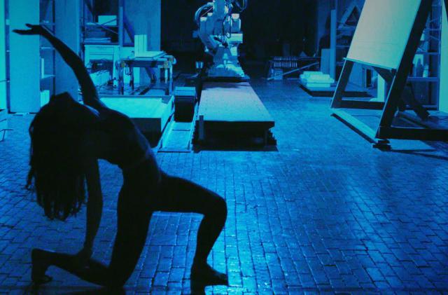 Catie Cuan's robot choreography