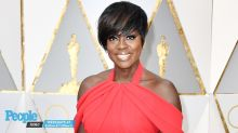 Viola Davis Takes Airport Style to New Heights in Ab-Baring Sheer Top