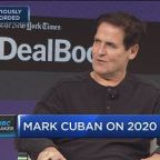 Billionaire Mark Cuban says the 'big losers' of the move to block the AT&T-Time Warner merger are Facebook and Google